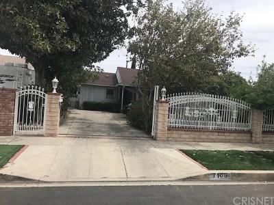 Reseda Single Family Home For Sale: 7106 Claire Avenue