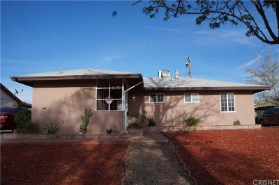 Palmdale Single Family Home For Sale: 38532 36th Street East