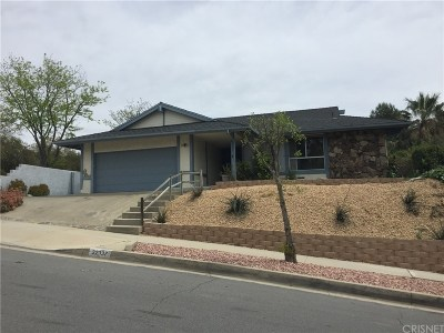 Saugus Single Family Home For Sale: 22337 Barbacoa Drive