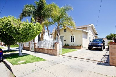 Inglewood Residential Income For Sale: 620 South Inglewood Avenue