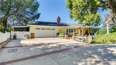 Newhall Single Family Home Active Under Contract: 24535 Treasure Vista Avenue