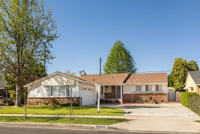 Mission Hills San Fernando Single Family Home Active Under Contract: 15349 San Jose Street