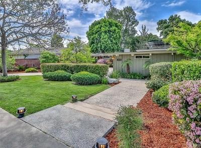Pasadena Single Family Home For Sale: 2750 San Pasqual Street