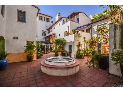 Los Angeles County Condo/Townhouse For Sale: 1414 North Harper Avenue #5
