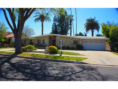 Woodland Hills CA Single Family Home For Sale: $885,000