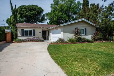 Northridge Single Family Home Active Under Contract: 9533 Ruffner Avenue