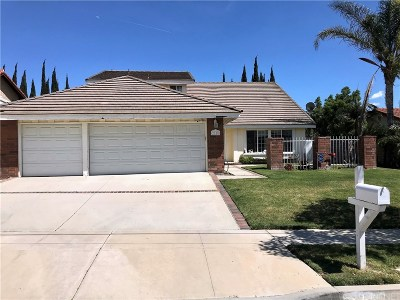 Simi Valley Single Family Home For Sale: 2918 Reservoir Drive