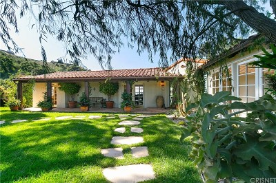 Hollywood Hills Single Family Home For Sale: 2531 Nichols Canyon