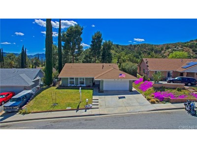 Canyon Country Single Family Home For Sale: 14640 Daisy Meadow Street