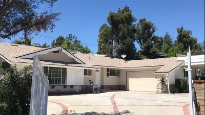 Granada Hills Single Family Home Active Under Contract: 17167 Midwood Drive