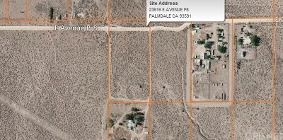 Palmdale Residential Lots & Land For Sale: 23616 East Avenue P8