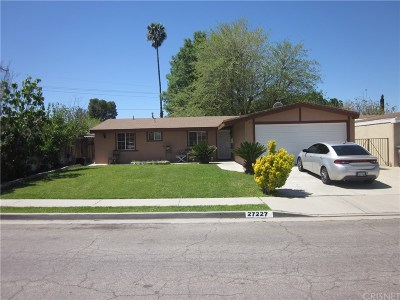 Canyon Country Single Family Home For Sale: 27227 Marchland Avenue