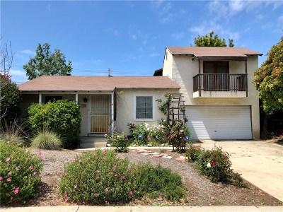 Single Family Home For Sale: 8123 Handley Avenue