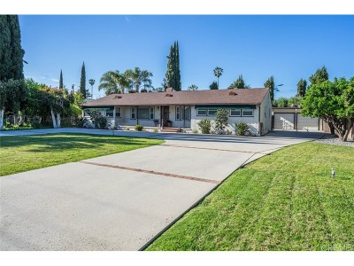 North Hills Single Family Home For Sale: 16029 Parthenia Street