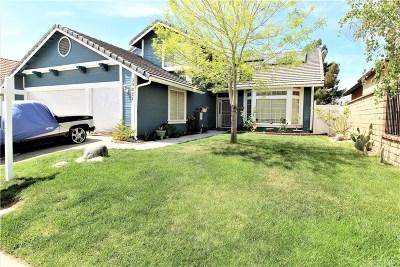 Palmdale Single Family Home For Sale: 39227 Gunsmoke Court