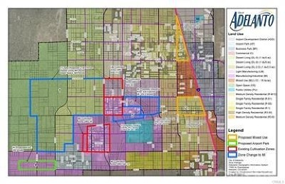 Adelanto Residential Lots & Land For Sale: Yucca & Beaver