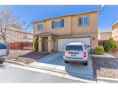 Palmdale Single Family Home For Sale: 40327 Pantano Road
