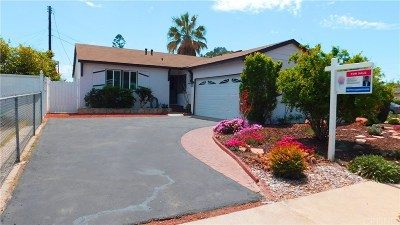 North Hollywood Single Family Home For Sale: 11610 Keswick Street