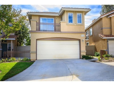 Castaic Single Family Home For Sale: 30325 Marigold Circle