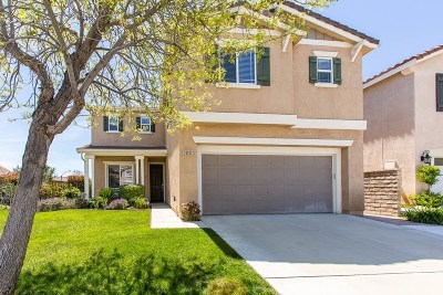 Castaic Single Family Home Active Under Contract: 28202 Springvale Lane