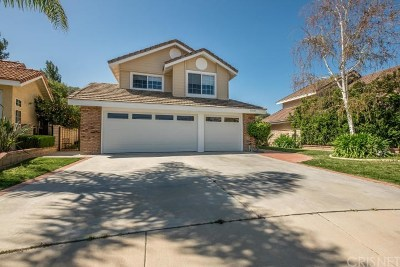 Saugus Single Family Home For Sale: 22428 Bea Court
