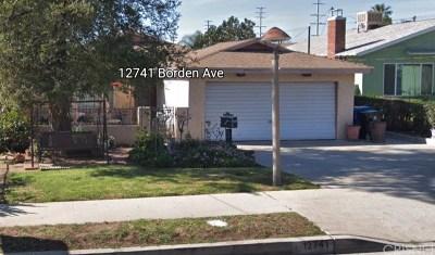 San Fernando Single Family Home For Sale: 12741 Borden Avenue