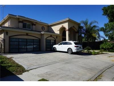 Panorama City Single Family Home For Sale: 8231 Greenbush Avenue