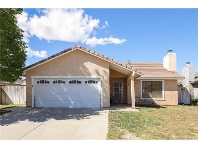 Lancaster Single Family Home For Sale: 3551 West Avenue J14
