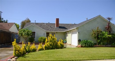 Northridge Single Family Home For Sale: 17436 Blythe Street