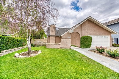 Valencia CA Single Family Home For Sale: $615,500