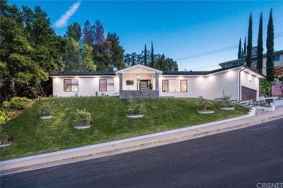 Encino Single Family Home For Sale: 3554 Alginet Drive