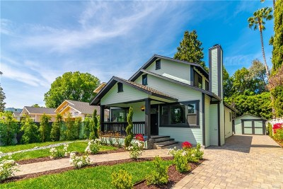 Sherman Oaks Single Family Home For Sale: 4635 Mary Ellen Avenue