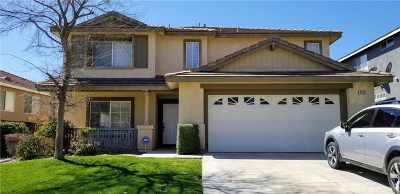 Castaic Single Family Home Active Under Contract: 32811 The Old Road