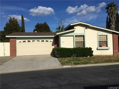 Castaic Single Family Home For Sale: 31826 Marcasite Lane