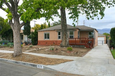 Burbank Single Family Home For Sale: 320 North Glenwood Place