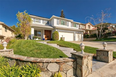 Stevenson Ranch Single Family Home For Sale: 25629 Hood Way