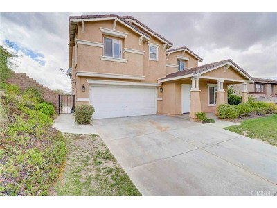 Palmdale Single Family Home For Sale: 38643 Louise Lane