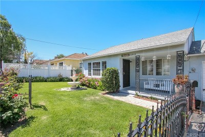 Sunland Single Family Home Active Under Contract: 10919 Whitegate Avenue
