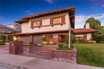 Woodland Hills Single Family Home For Sale: 5952 Woodland View Drive