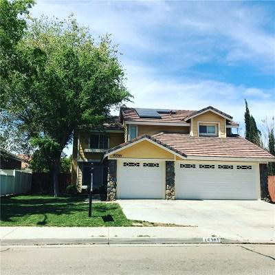 Lancaster Single Family Home For Sale: 45301 Pickford Avenue