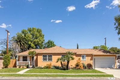 Northridge Single Family Home Active Under Contract: 9012 Eames Avenue