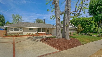 Northridge Single Family Home For Sale: 16809 Tupper Street
