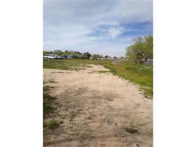 Palmdale Residential Lots & Land For Sale: Vac/Ave S Pav/Vic 35th Ste