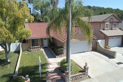 Saugus Single Family Home For Sale: 22549 Cardiff Drive
