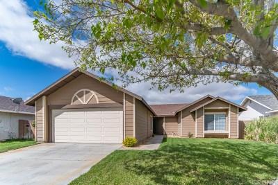 Lancaster Single Family Home For Sale: 45917 Primrose Drive