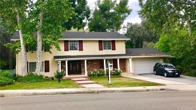 Tarzana Single Family Home For Sale: 19348 Wells Drive