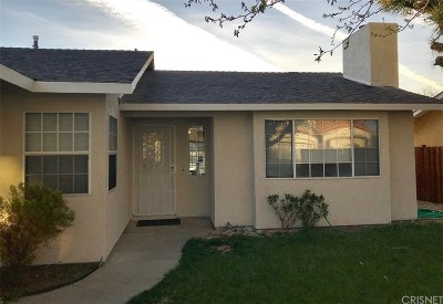 Palmdale Single Family Home For Sale: 37237 55th Street East