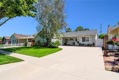 West Hills Single Family Home Sold: 23346 Schoolcraft Street