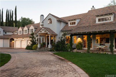 Agoura Hills Single Family Home For Sale: 5630 Foothill Drive