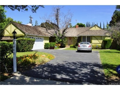 Encino Single Family Home Sold: 4908 Edgerton Avenue